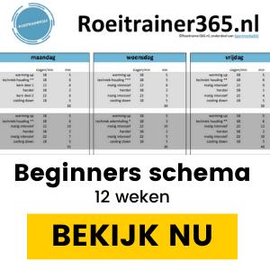 Roeitrainer schema beginners