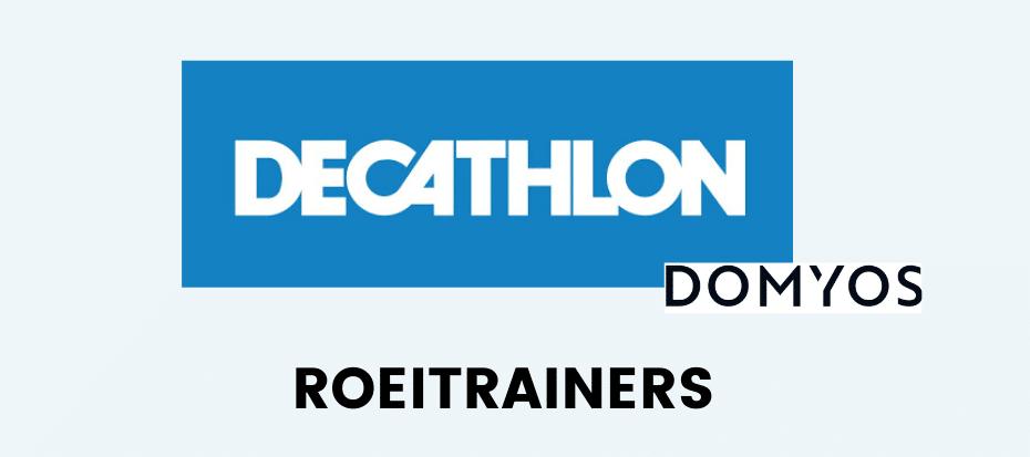 Decathlon roeitrainers